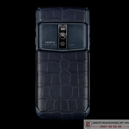 Vertu mới New Signature Touch PURE NAVY ALLIGATOR 2016 2