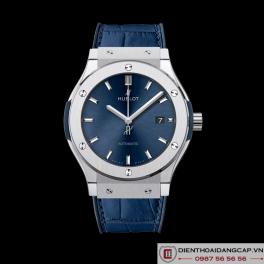 HUBLOT Classic Fusion Automatic Blue Sunray Dial Titanium 42mm 542.NX.7170.LR -05