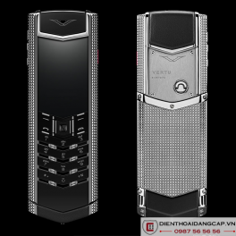 Vertu mới Signature CLOUS DE PARIS STAINLESS STEEL 2017 01