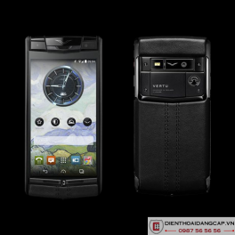 Vertu Signature Touch Jet Calf Leather 2016 Mới 100%