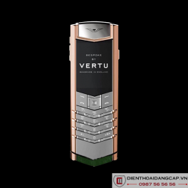 Vertu Mới Signature RED GOLD HANDSET HUNTER GREEN ALLIGATOR 2016 02