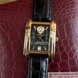 Russian President PUTIN Poljot mechanical self-winding black 02