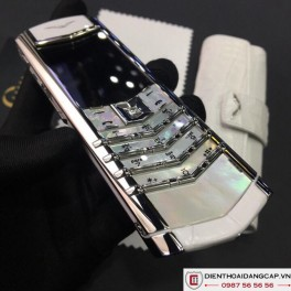 Vertu cũ Signature S White Mother Of Pearl 03
