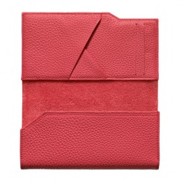 Bao da bê kiểu ví màu đỏ hồng cho Vertu Aster