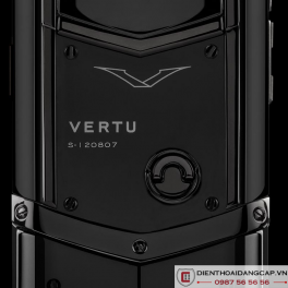Vertu Mới Signature BLACK DLC STAINLESS CERAMIC 02