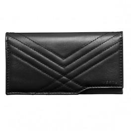 Bao da bê kiểu ví mềm màu đen dành cho Vertu Aster