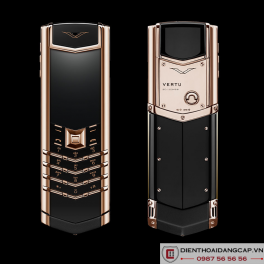 Vertu Signature S DESIGN ROSE GOLD BLACK DLC 01