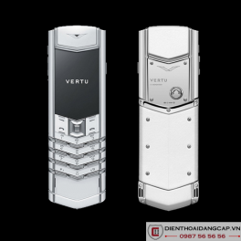 Vertu cũ  Signature S Pure White 01