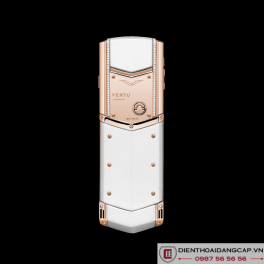 Vertu Mới Signature WHITE RED GOLD DIAMONDS  2016 03