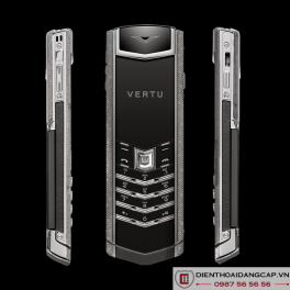 Vertu cũ Signature S WHITE GOLD BLACK DIAMONDS  01