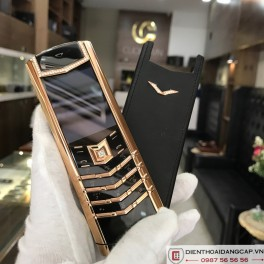 Vertu Signature S DESIGN ROSE GOLD DIAMONDS 01