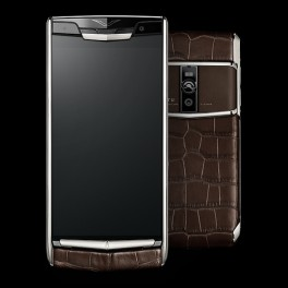 Vertu mới New Signature Touch COCOA ALLIGATOR 2016