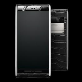 Vertu mới Aster DIAMONDS BLACK ALLIGATOR 2016