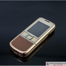 Nokia 8800 Vàng hồng nâu gold full đá 2
