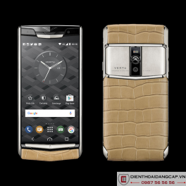 Vertu mới New Signature Touch ALMOND ALLIGATOR 2016