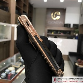 Vertu Signature S DESIGN ROSE GOLD BLACK DLC 03
