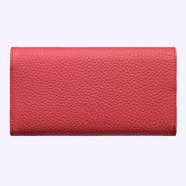 Bao da bê kiểu ví màu đỏ hồng cho Vertu Aster 1