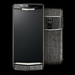 Vertu mới New Signature Touch CLOUS DE PARIS ALLIGATOR 2016