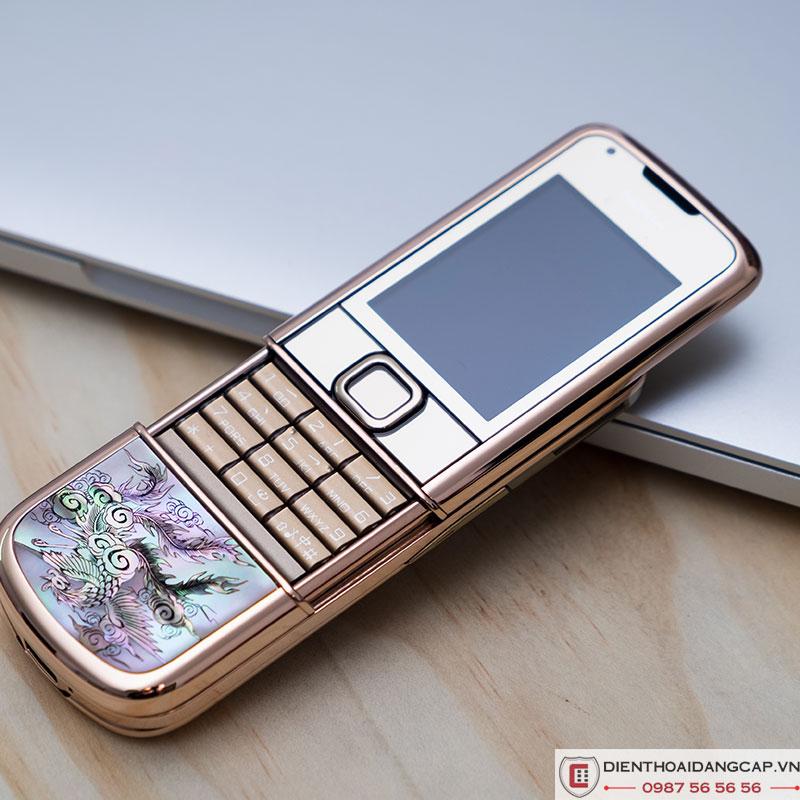 Nokia 8800 Vàng hồng long phụng