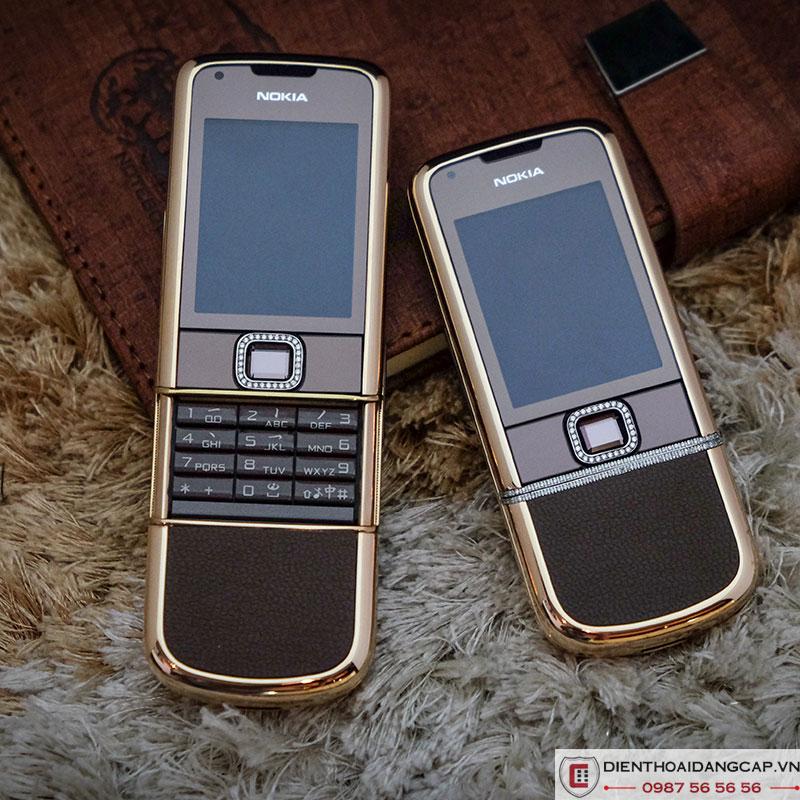 Nokia 8800 vang hong nau da