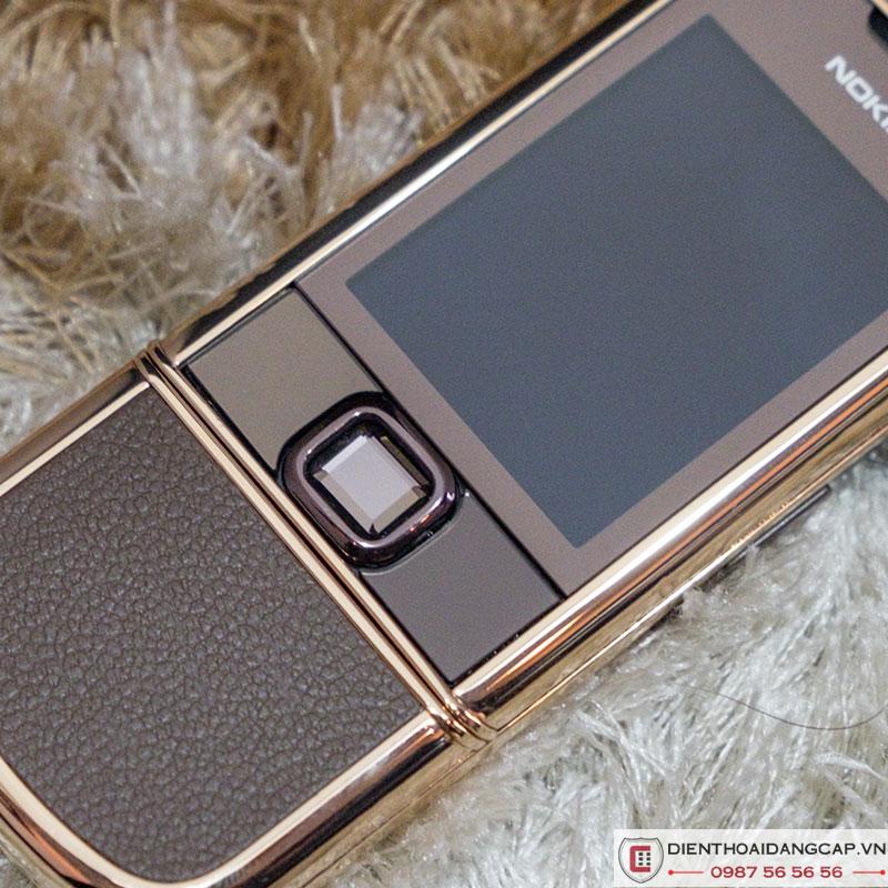 Nokia 8800 vàng hồng da nâu