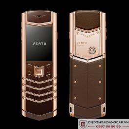 Vertu cũ Rose Gold Chocolate 01