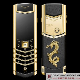 Vertu mới Signature GOLD DRAGON 2016
