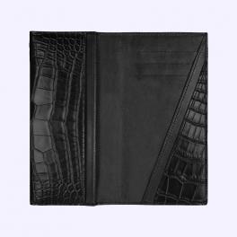Bao da cá sấu màu đen huyền có nắp dành cho New Signature Touch 3