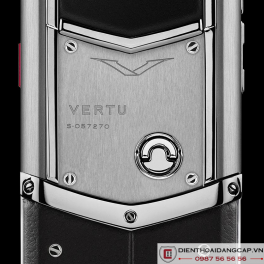 Vertu mới Signature STAINLESS STEEL BLACK LEATHER 2017 02