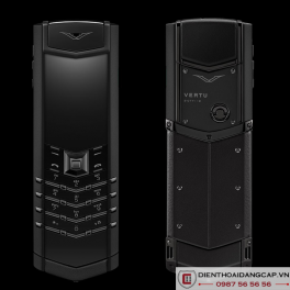 Vertu cũ Signature Pure Black 01