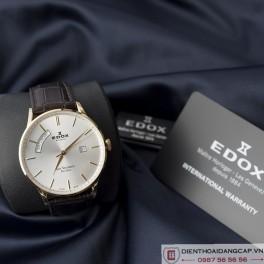 EDOX Men's Les Vauberts Day Date Automatic 02