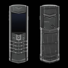 Vertu mới Signature ZIRCONIUM ALLIGATOR 2016