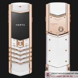 Vertu Mới Signature WHITE RED GOLD DIAMONDS  2016 01