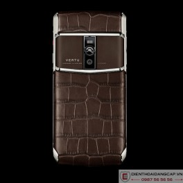 Vertu mới New Signature Touch COCOA ALLIGATOR 2016 1