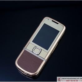 Nokia 8800 Vàng hồng nâu gold full đá 1