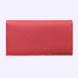 Bao da bê kiểu ví màu đỏ hồng cho Vertu Aster 2