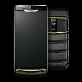 Vertu mới New Signature Touch PURE JET RED GOLD 2016