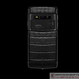 Vertu Signature Touch Pure Jet Alligator Diamonds 2016 Mới 100%-02