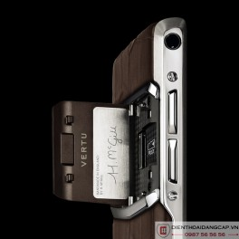 Vertu mới New Signature Touch COCOA ALLIGATOR 2016 3