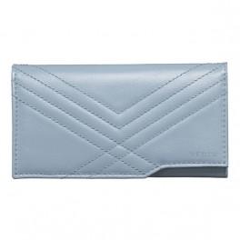 Bao da bê kiểu ví mềm màu xanh dương cho Vertu Aster