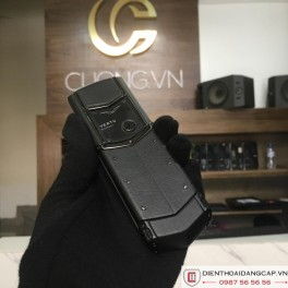 Vertu cũ Signature Pure Black 02