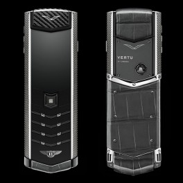 Vertu mới Signature FOR BENTLEY SILVER ALLIGATOR 2015 01