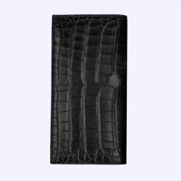 Bao da cá sấu màu đen huyền có nắp dành cho New Signature Touch 1