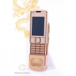 Nokia 8800 Vàng hồng Song Long Chầu Nguyệt 01