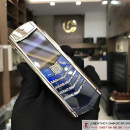 Vertu cũ  Signature S Navy Alligator 02
