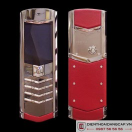 Vertu Mới Signature RED LEATHER 2016 01