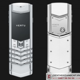 Vertu mới Signature DESIGN WHITE CERAMIC 2016