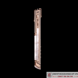 Vertu cũ Signature S ROSE GOLD PAVE DIAMONDS ALBINO ALLIGATOR 03