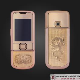 Nokia 8800 Vàng hồng Song Long Chầu Nguyệt